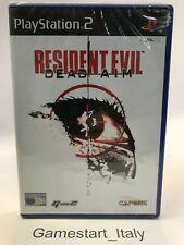 RESIDENT EVIL DEAD AIM - SONY PS2 - NUOVO SIGILLATO - NEW SEALED PAL VERSION