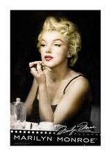Quadro su pannello in legno MDF Marilyn Monroe Lipstick Misura 60x90 CM