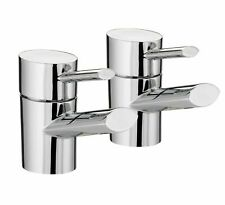 Bristan Oval Modern Chrome Bath Taps brand new and boxed