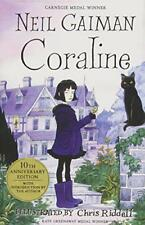 Coraline by Neil Gaiman, NEW Book, (Hardcover) FREE & Fast Delivery