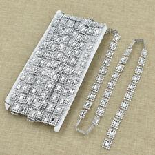 10yards Crystal Beaded Chain Rhinestone Crystal Jewelry Chain Trim for DIY Craft