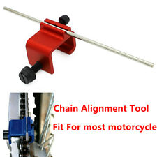 Adjusting Chain Sprocket Alignment Tool Fits For Most Motorcycle CNC Aluminum