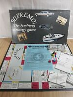 Vintage Supremo The Business Strategy Family Board Game - Classic Game