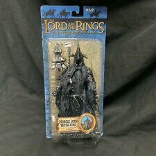 LOTR Morgul Lord Witch King Toybiz Action Figure Lord Rings Return 2004