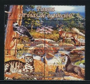 Peru Animals Bird 2007 MNH  Sc 1572