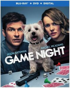 Game Night [New Blu-ray] With DVD, UV/HD Digital Copy, Standard Ed, Su