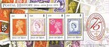 Isla de Man 2001, HB 75 Aniv. Reina Isabel II (MNH) / CF5028