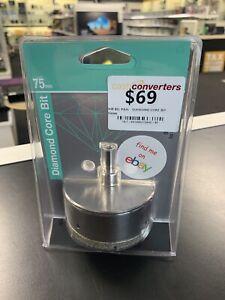 NEW! 75mm P&N DIAMOND CORE DRILL BIT - Aust Brand