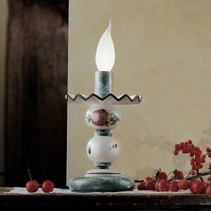 Bedside Lamp Lumetto White Ceramic Classic