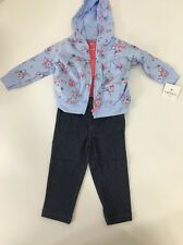NWT Baby Girl Carters 3 Piece Cardigan Set Size 12 Months