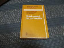 Springer Series in Statistics: Model Assisted Survey Sampling by Swensson, 1993