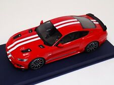 1/18 GT Spirit Ford Mustang Shelby GT in Red White Stripes GT149 Blue Leather