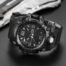 Reloj Pulsera Ohsen Militar para Hombre Deporte Fecha Alarma Cronógrafo Cuarzo Ejército de Choque