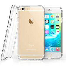 Crystal Clear sottile Indietro TPU gel Jelly Skin Case Cover per iPhone 6/6s UK VENDITA