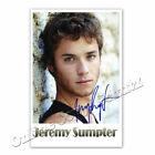 Jeremy Sumpter  -  Autogrammfoto