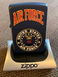 US AIR FORCE ZIPPO LIGHTER NEW IN BOX.
