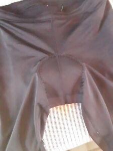 Sugoi Black Cycling Long Tights/Pants - Padded & Zippered Leg Sz. XL