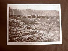 WW1 Prima guerra mondiale 1914-1918 Asiago, trincee ferrovia e Vallarsa nel 1916