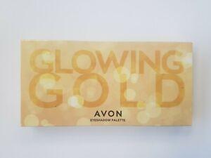 Avon Glowing Gold Eyeshadow Palette 17g Brand new