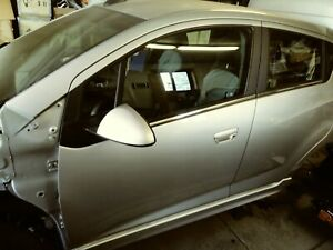 2016 Chevy Spark EV Driver's/Left Front AND Rear Side Doors Silver Great Cond.