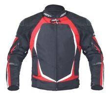 Blousons rouge textiles epaule pour motocyclette