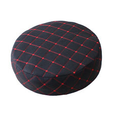 33cm Stool Covers Round Chair Seat Cover Protector Cushion Pad Black Color