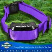Petsafe YardMax Rechargeable Dog Fence Collar Receiver PIG00-11116 +PURPLE STRAP