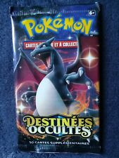 Booster Pokémon dracaufeu destinées occultes neuf scellé vf