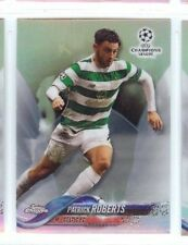 PATRICK ROBERTS 2018 TOPPS CHROME UEFA CHAMPIONS LEAGUE SOCCER REFRACTOR #71