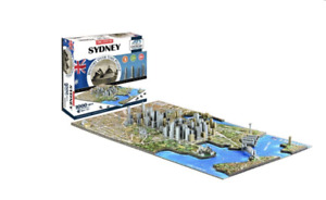 The City of Sydney History Over Time Puzzle 4D Cityscape 1000+ pcs- NEW Open Box