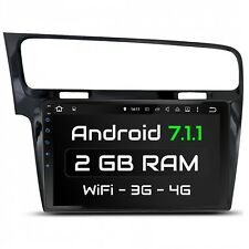"10.1"" AUTORADIO CON ANDROID 7.1 ADECUADO PARA VW GOLF 7 2013-2017 2GB WIFI NAVI"