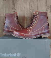"""Timberland 6"""" Men Earthkeepers Leather Boots Brown Sz 9.5 15551 READ DESCRIPTION"""