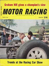 March 1963 Motor Racing Magazine from England John Surtees on Cover