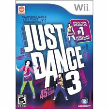 Just Dance 3 For Wii Music With Manual And Case Very Good 7Z