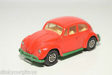 CORGI TOYS 383 VW VOLKSWAGEN BEETLE KAFER 1200 SALOON RED NEAR MINT CONDITION