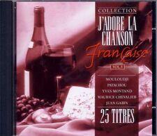 J'adore la chanson francaise vol.3 ~ compilation - CD - NEUF