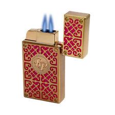 Rocky Patel Pink & Gold Wind Resistant  Cigar Lighter W/Punch LIFETIME WARRANTY