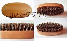 Natural Wood beard brush 100% boar bristle brush for Men beard Customize logo
