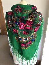 Russian  Large Square Scarf/shawl