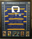 Blazed In Glory - Parramatta Eels Legends - NRL Signed & Framed Jersey