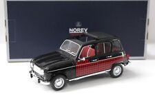 1:18 Norev Renault 4 Parisienne 1964 black/red NEW bei PREMIUM-MODELCARS