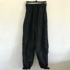 Columbia Mens Snowboard Ski Pants Sz S Side Zipper Snap Ankle Black
