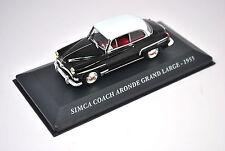 Voiture modèle réduit collection 1/43ème Simca Coach Grand large de 1955