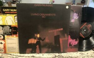 GARY NUMAN - LIVING ORNAMENTS '80 UK IMPORT - NEAR MINT- VINYL LP W/ ORDER FORM
