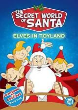 The Secret World of Santa Claus: Elves in Toyland (DVD, 2013) Brand New