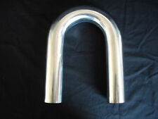 STAINLESS STEEL EXHAUST TUBING U BEND 2  INCH FULLY POLISHED