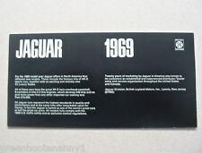1969 Jaguar Brochure