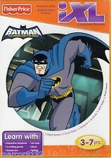 Fisher-Price iXL Learning System Software Game Batman New