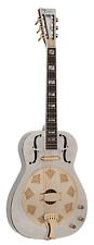 Dean Resonator G Gold Round Neck Acoustic Electric Guitar - Ships Free!