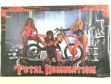 Poster TOTAL DOMINATION Vintage Poster from early 90's HONDA CR250 MAICO 96.07